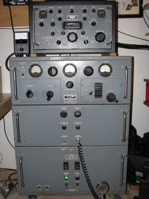 Close-up photo of the T-368 transmitter and matching receiver